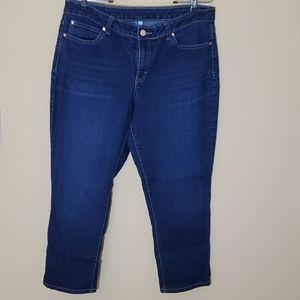 Jennifer Lopez Cropped Jeans